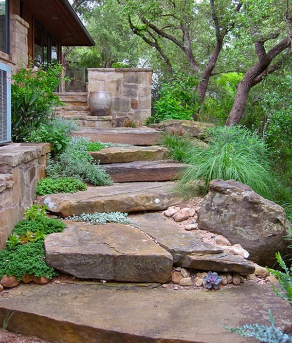 Rock garden design ideas to create a natural and organic for Natural landscape design
