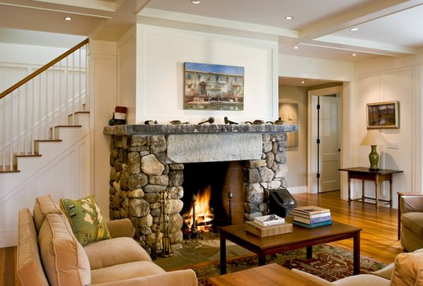 Beautiful Stone Fireplaces That Rock - Fireplaces with stone