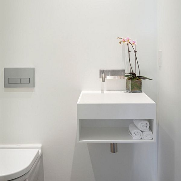 Sink designs suitable for small bathrooms - Small space bathroom sinks style ...
