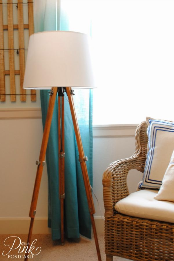 Diy floor lamps 15 simple ideas that will brighten your home view in gallery heres a tripod floor solutioingenieria