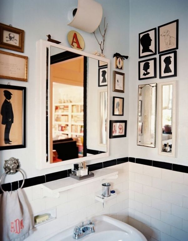 Wall Art Ideas For Small Bathroom : How to spice up your bathroom d?cor with framed wall art