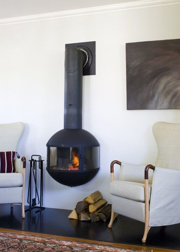 home decorating trends homedit - Wood Stove Design Ideas