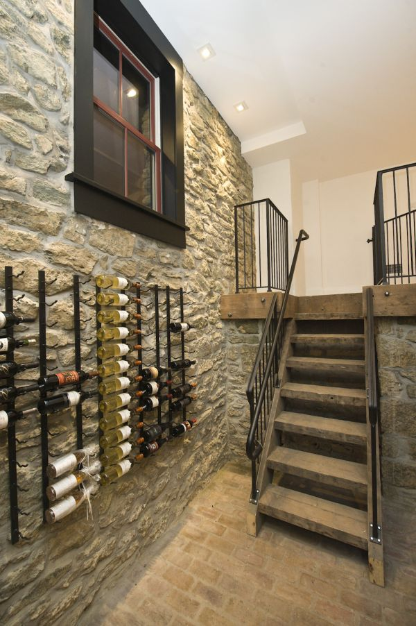 Wall Wine Racks Part - 34: 10 Practical And Interesting-Looking Wall Mounted Wine Racks