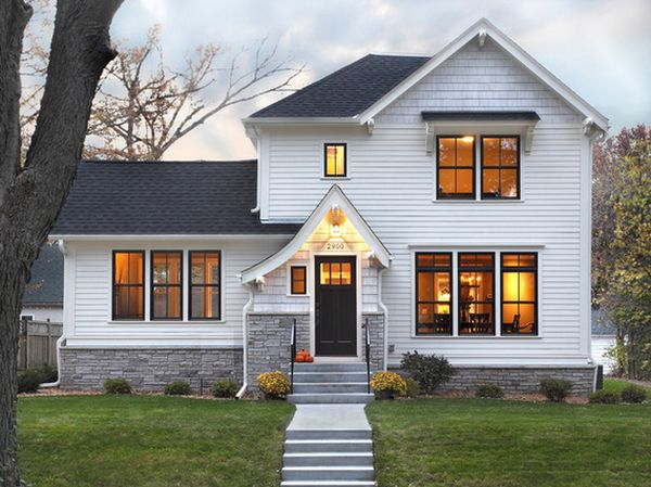 Stylish Black Front Doors Change Your Houses Curb Appeal