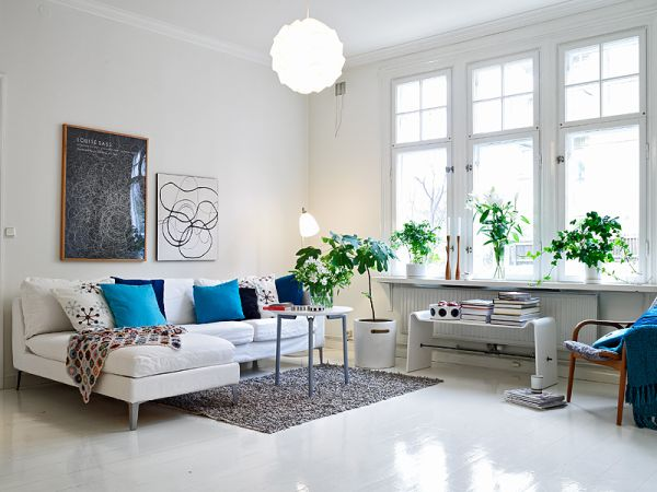 View In Gallery White Floors