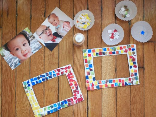Diy mosaic projects with which you can change your homes dcor colorful framed pictures solutioingenieria Images
