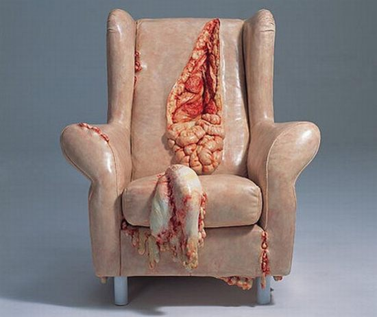 The Gutsy Chair, 13 Home Furnishings that are Seriously Wrong