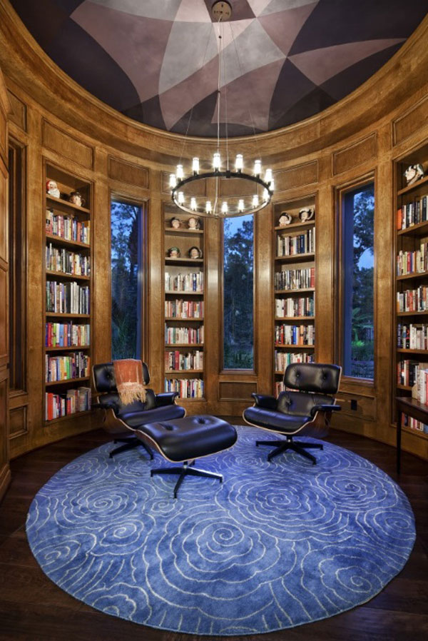 Home Library Design Ideas With Stunning Visual Effect
