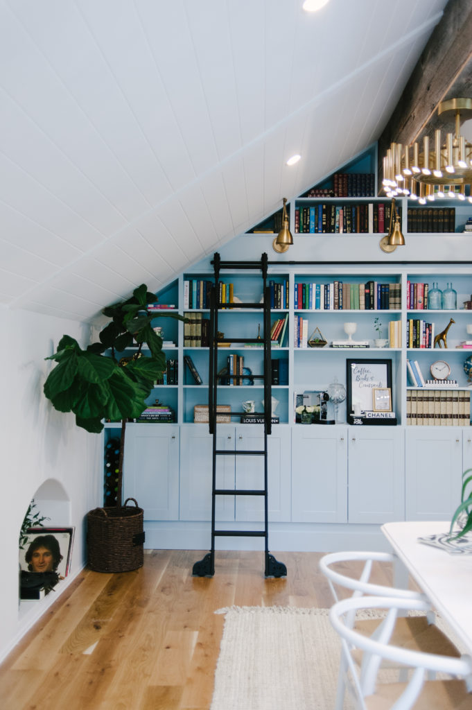 home library Make The Most of Every Inch of Space