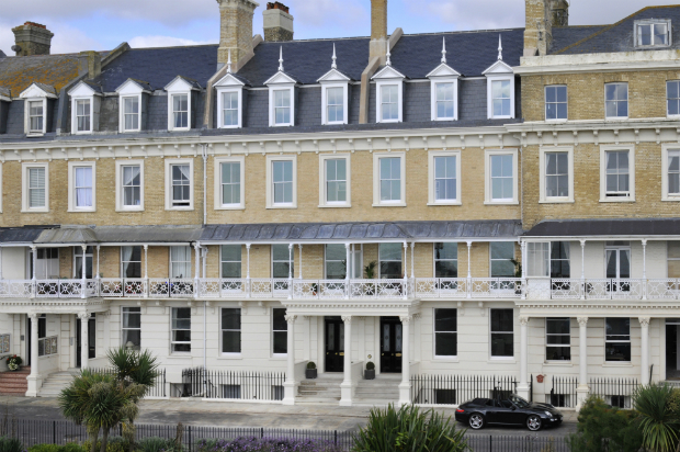 Abandoned Regency Hotel Transformed Into Elegant Seafront Apartments