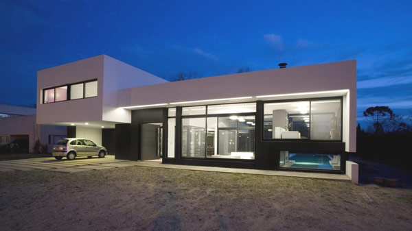 White Modern Houses 15 contemporary houses and their inspiring garages