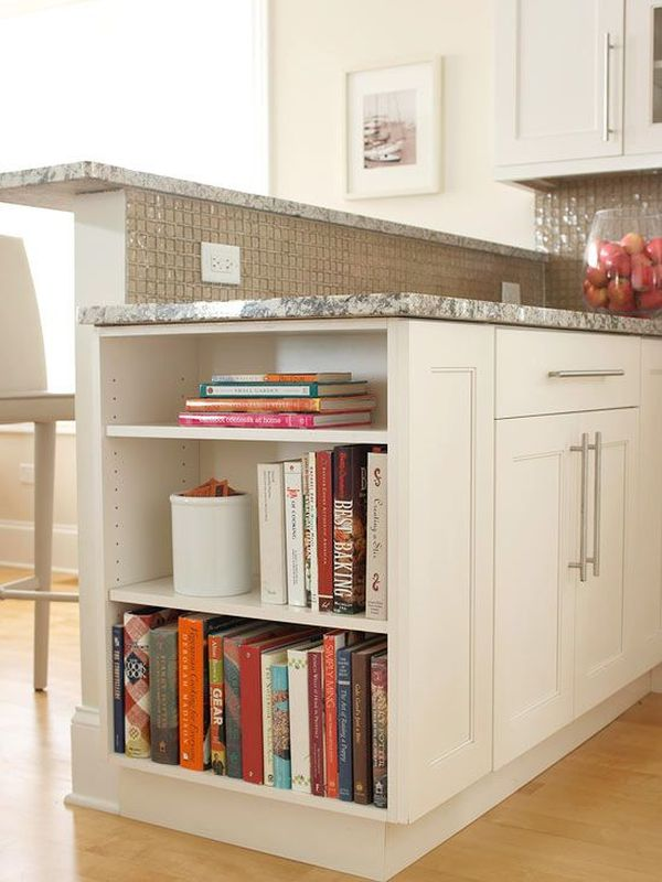 kitchen cabinet books your kitchen counters organized and styled 18260