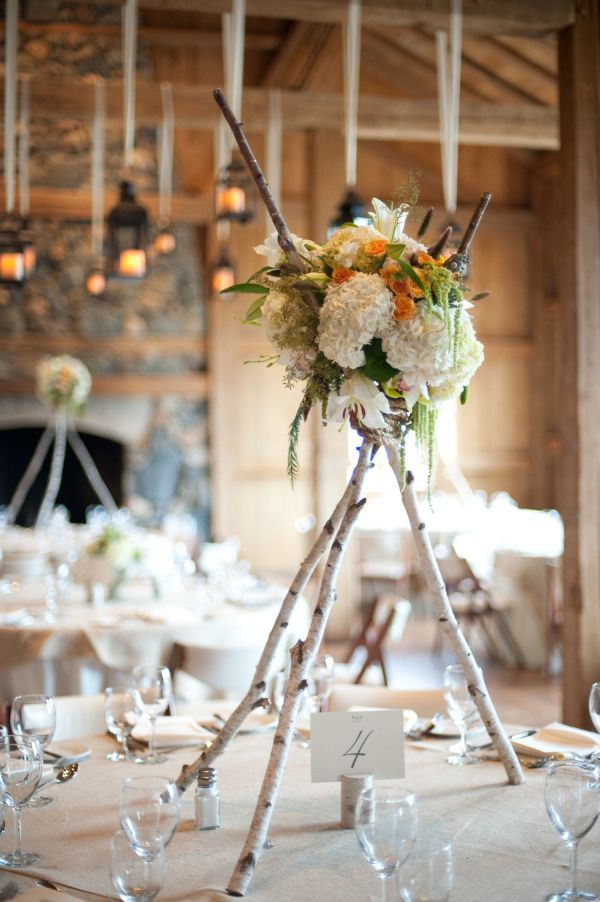 Rustic Wedding Centerpieces Part - 20: Find Inspiration In Nature For Your Wedding Centerpieces - 40 Creative Ideas