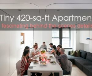 Huge Multi-Functional Living Potential In A Tiny 420-sq-ft Apartment – Exclusive Interview