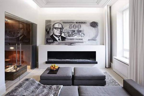 The Story Of How A Bank Became An Apartment In Helsinki, Finland