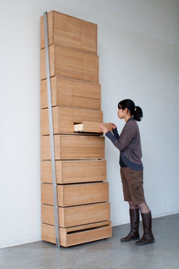 2. The Staircase Storage Solution.