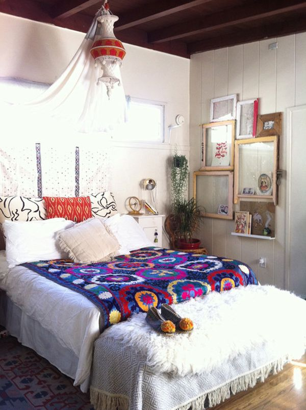 Three Mustread Tips For Achieving A Bohemian Décor In Your Home Adorable Bohemian Style Bedroom Decor