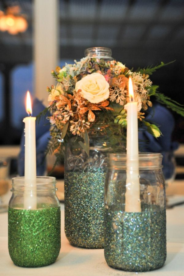 Find inspiration in nature for your wedding centerpieces