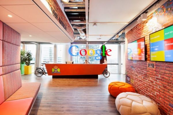 google office image gallery. The Google Amsterdam Offices Are Full Of Color Energy And Sustainable Features Office Image Gallery