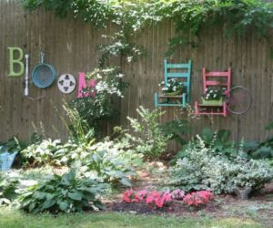 25 Concept for Decorating your Garden Fence