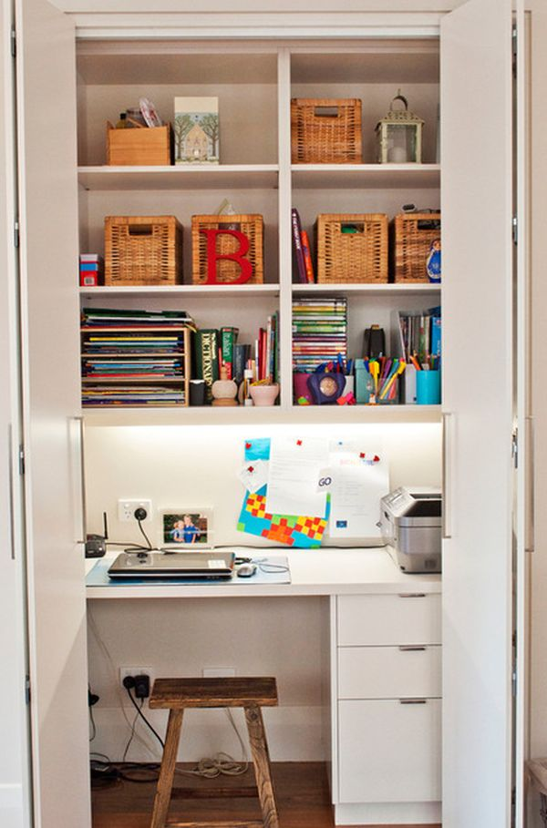 home office designer.  20 Clever Ideas To Design A Functional Office In Your Kitchen