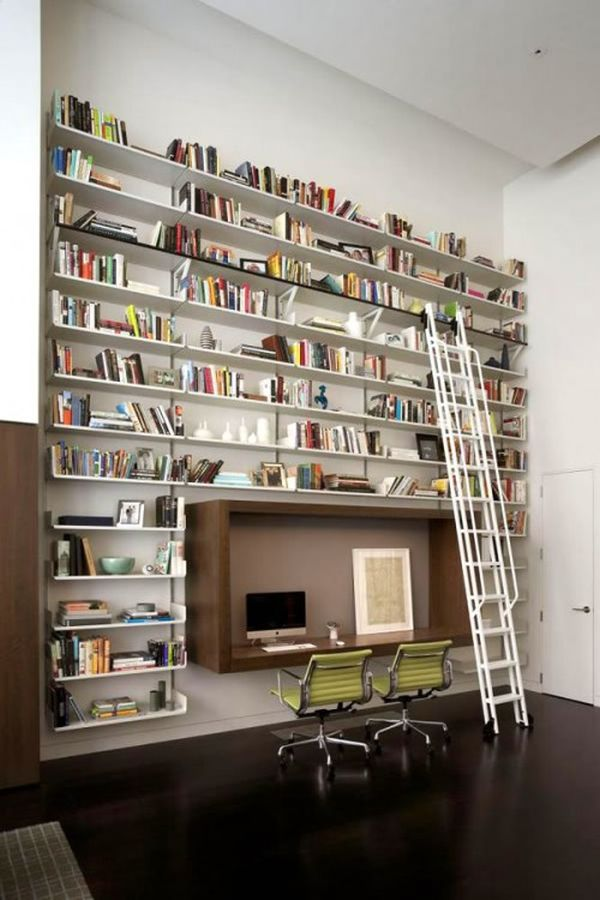 Home Library Design: 62 Home Library Design Ideas With Stunning Visual Effect