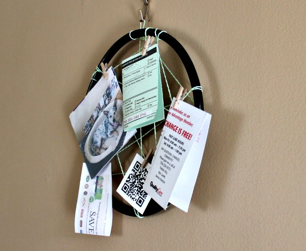 hoop bulletin board