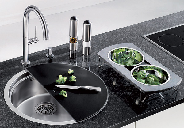 Creative kitchen sink designs you never knew were available view in gallery workwithnaturefo