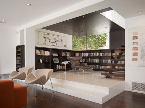 library home design. Modern Home Libraries  62 Library Design Ideas With Stunning Visual Effect