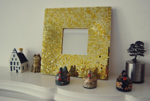 Diy mosaic projects with which you can change your homes dcor mosaic mirror solutioingenieria Gallery