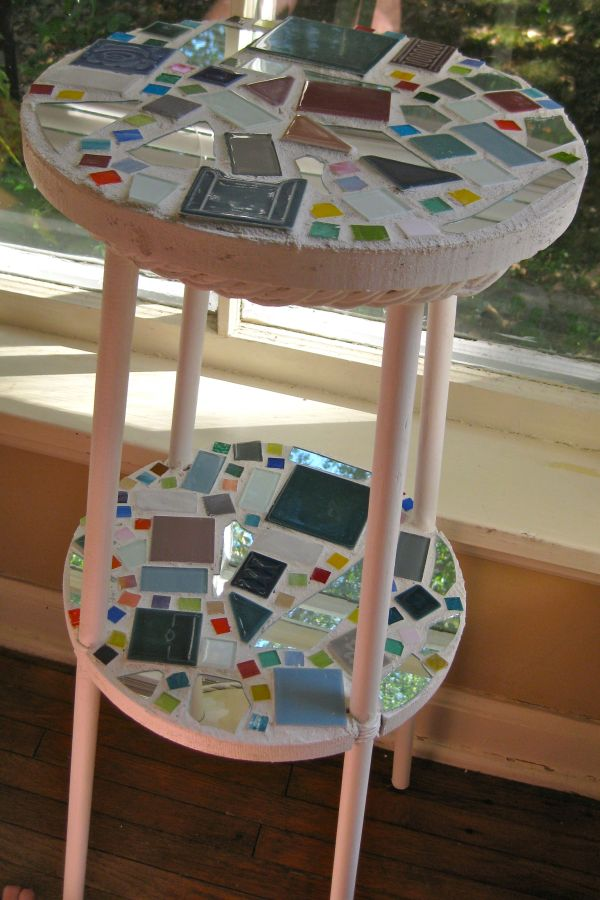 Diy mosaic projects with which you can change your homes dcor table revamp solutioingenieria Image collections