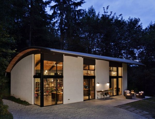Architectural wonders 12 curved roof buildings that will for Studio home designs