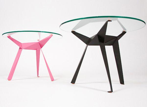 Origami Natisa Design | Design tables, Living tables | 436x600