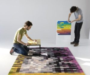 Bring The Virtual World Closer To Your Home With Pixelated Furniture And Accessories