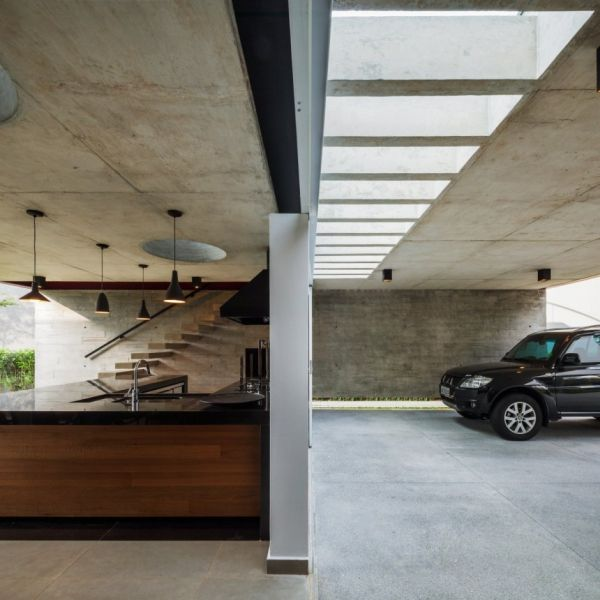 15 Contemporary Houses And Their Inspiring Garages