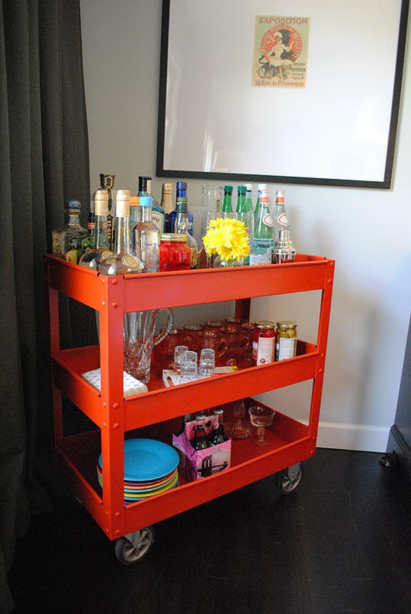 14 Inspiring Diy Bar Cart Designakeovers