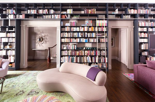 how to make home library