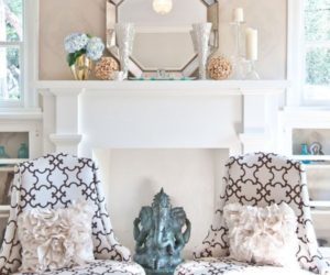 Sunshine Style: Fireplaces & Mantles Dressed For Spring