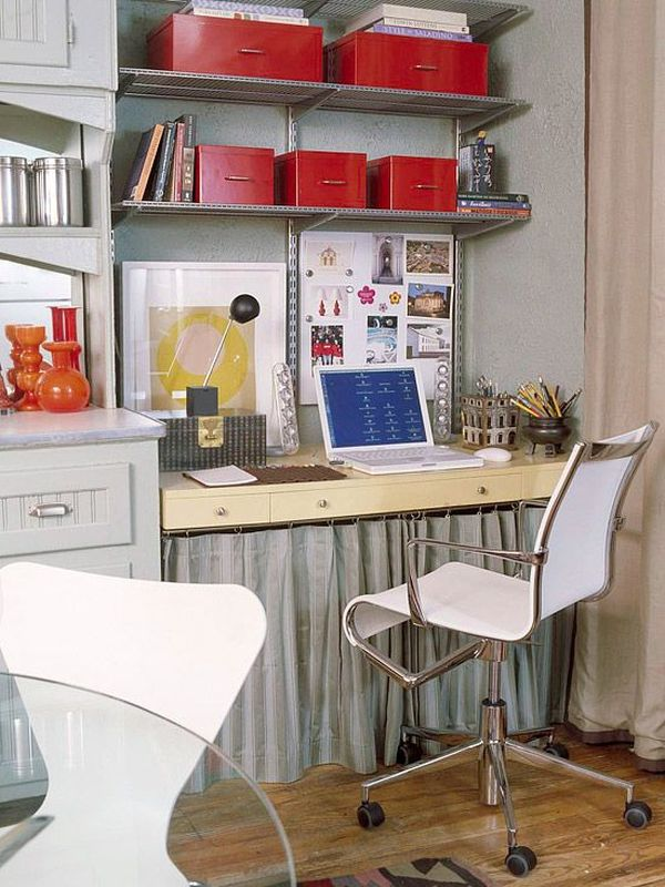kitchen office organization ideas 20 clever ideas to design a functional office in your kitchen 19938