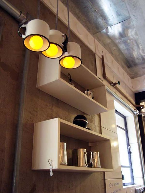 How To Transform Simple Kitchen Utensils Into Light Fixtures Homedit