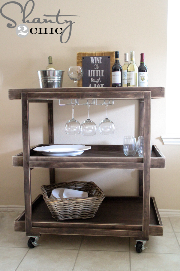 alcohol paint furniture 14 inspiring diy bar cart designs and makeovers