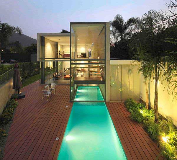 view in gallery - Outdoor House Pools
