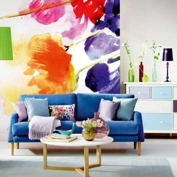 Flower Power: Bold, Graphic Florals in Home D?cor