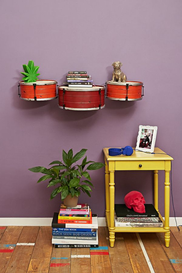 Musically inspired furniture and decorations for your home - Creative home decorations set ...