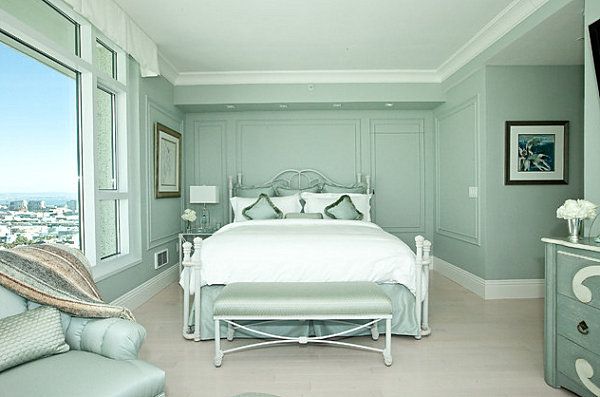 mint green bedroom dipped in mint monochromatic rooms 12412