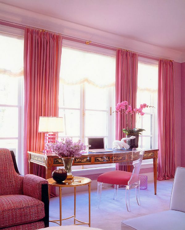 Dipped in Bubblegum: Monochromatic Rooms