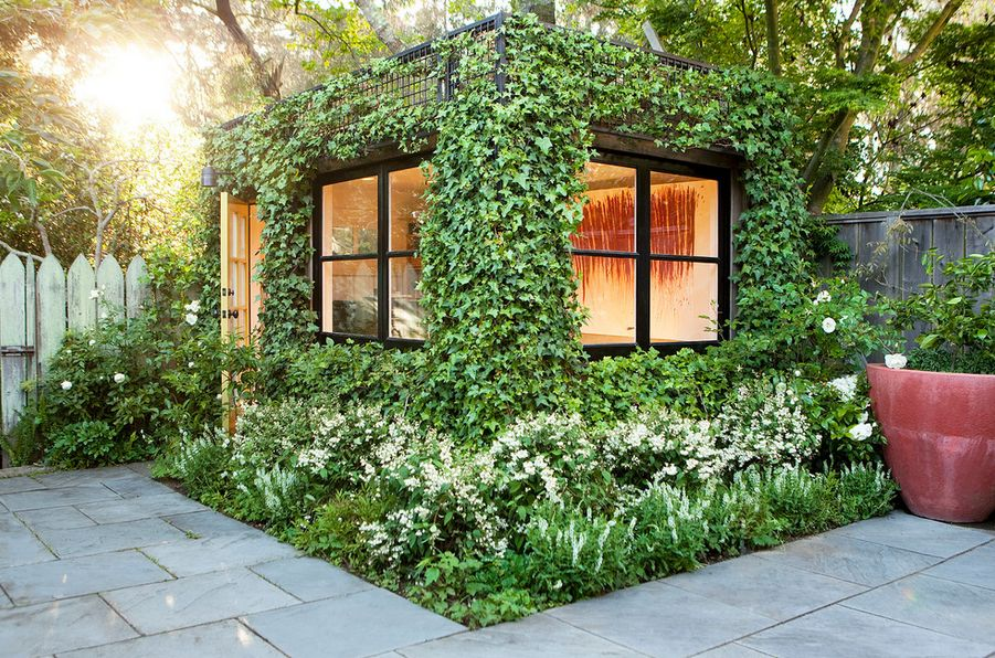 Vine Covered Walls Let You Enjoy The Outdoors For The Best Part Of The Year