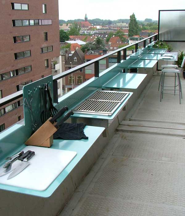 Make the most of your small balcony top 15 accessories for Balcony bar top