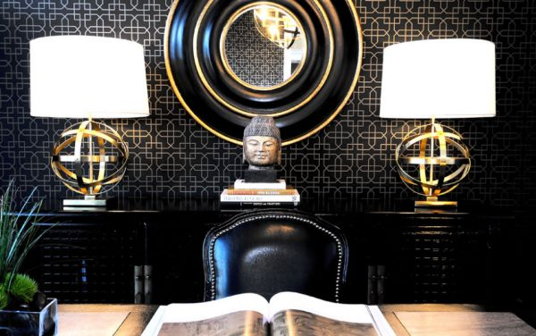 Black And Gold For A Refined Look Or Black And White For A Classical And  Always Elegant Décor