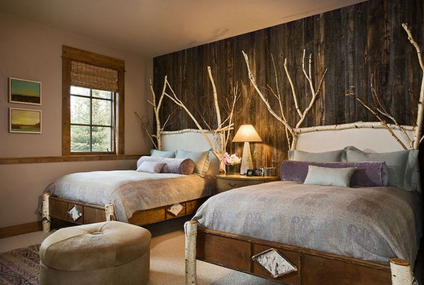 Farmhouse Bedroom Decor Ideas Are Very Warmly Country: 12 Ways To Use Actual Birch Trees In Your Home